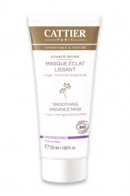 "Organic Smoothing Radiance Mask ""Source Infinie"" Cattier"