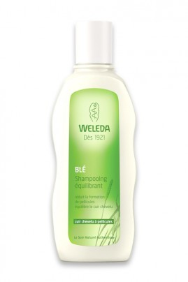 Vegan Shampoo with Wheat - Anti Dandruff - Weleda