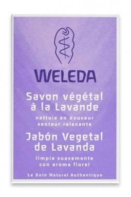 Vegan Lavender Soap - Floral Fragrance - Weleda
