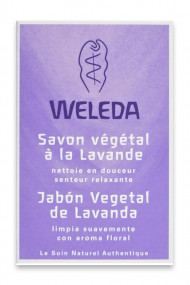 Savon Végétal à la Lavande Vegan - Weleda