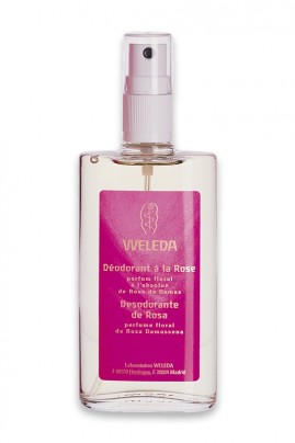 Vegan Rose Deodorant Spray - Weleda