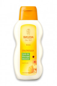 Vegan Calendula Massage Oil - Weleda Baby