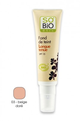 fond de teint fluide bio longue tenue spf15 so 39 bio tic ayanature. Black Bedroom Furniture Sets. Home Design Ideas