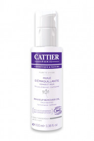 Organic Waterproof Makeup Remover Oil Pureté Divine Cattier
