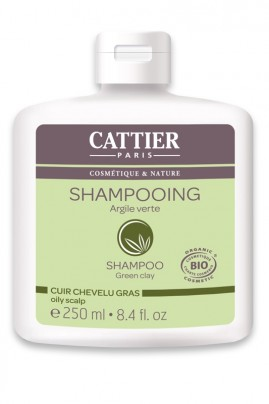 Organic Shampoo for Oily Hair - Green Clay Cattier
