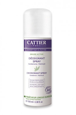 Déodorant Spray Bio Brume Active Cattier