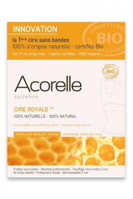 Organic Wax Face and Sensitive Zones Acorelle