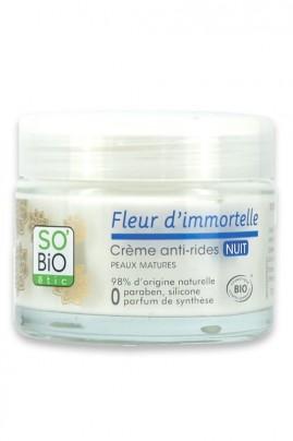 Crème Anti-Rides Bio NUIT SO'BiO étic