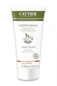 Organic Hand Cream Very Dry Hands - Ultra Nourishing - Cattier