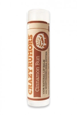Natural Vegan Lipbalm - Cinnamon Bun - Crazy Rumors