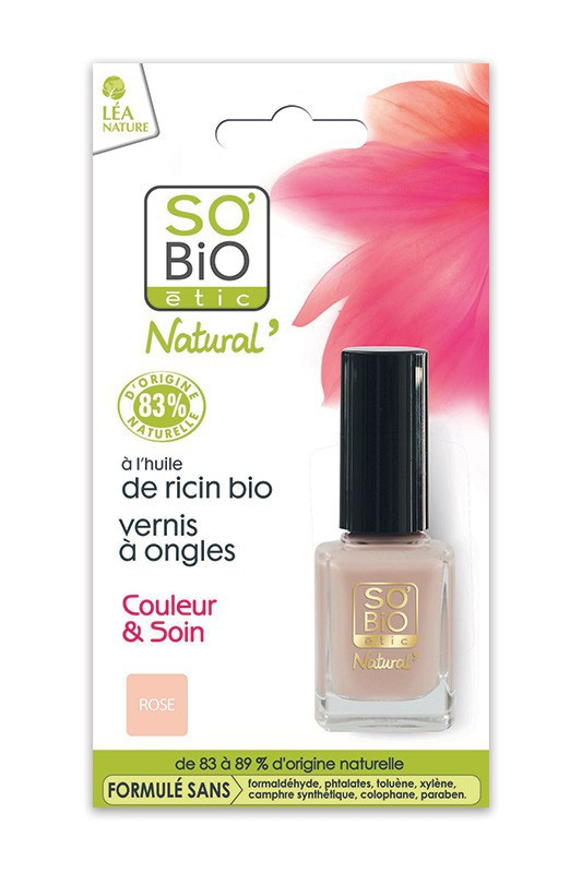 Vegan Natural 7 Free Nail Polish So Bio 233 Tic Ayanature