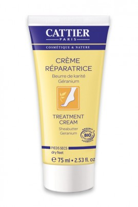 Organic Dry Feet Repairing Cream Cattier