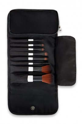 8 Piece Vegan Brush Set - Lily Lolo