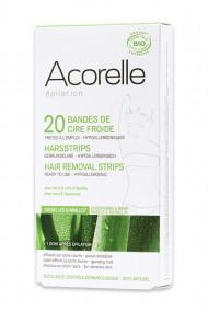Bandes de Cire Froide Bio - Maillot Aisselles - Acorelle