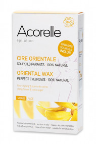 Organic Oriental Wax For Face and Touch-ups Acorelle