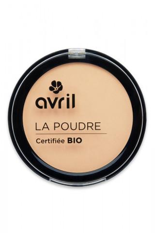 Poudre Compacte Bio Avril - Porcelaine