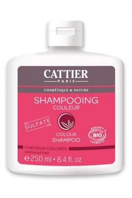 Shampooing Bio - Cheveux Colorés - Extrait de Riz - Cattier