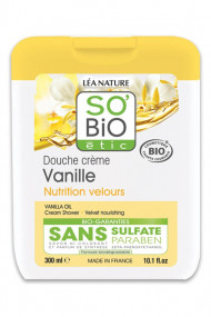 Crème de Douche Bio Vanille de Tahiti SO BiO étic