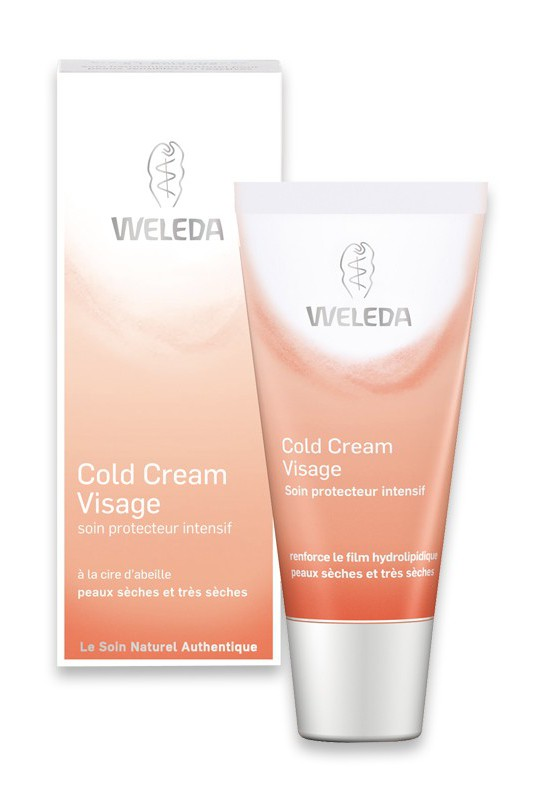 cold cream visage cr me nourrissante intensive weleda ayanature. Black Bedroom Furniture Sets. Home Design Ideas
