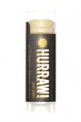 Baume à Lèvres Naturel & Vegan - Soin Protecteur SPF15 - Hurraw
