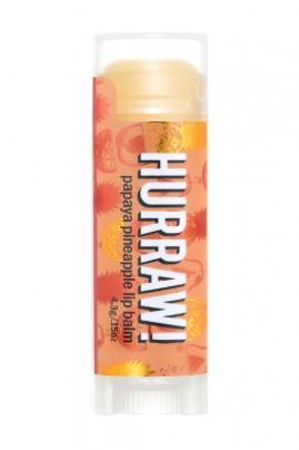 Baume à Lèvres Naturel & Vegan - Papaye Ananas - Hurraw
