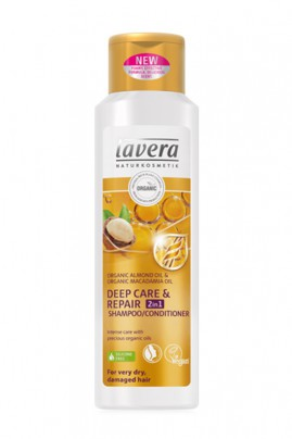 Vegan Shampoo 2 in 1 Care Depth Repair - Lavera