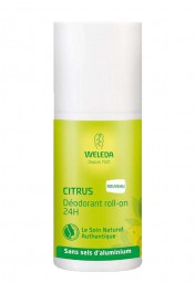 Déodorant Vegan Roll-On 24h - Citrus - Weleda