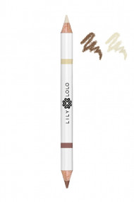 "Crayon Vegan 2 en 1 Sourcils ""Brown Duo Pencil"" - Lily Lolo"