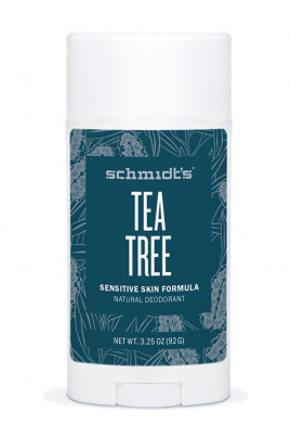 Déodorant Stick Vegan - Peau sensible - Tea Tree - Schmidt's