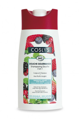Shampooing Douche Bio Fruits Rouges Coslys