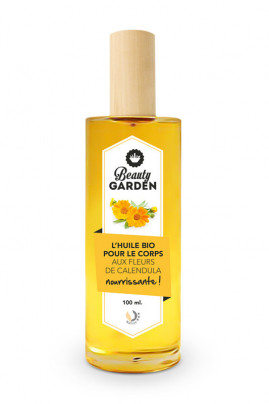 Organic Nourishing Body Oil - Calendula - Beauty Garden