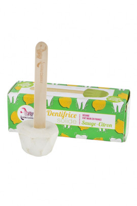Dentifrice Solide Vegan - Sauge & Citron - Lamazuna