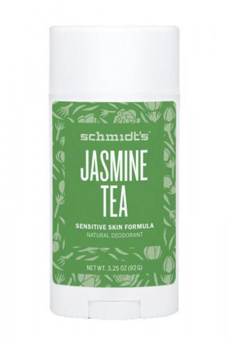 Déodorant Stick Vegan - Peau Sensible - Thé au Jasmin - Schmidt's
