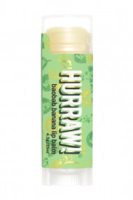 Natural & Vegan Lip Balm - Baobab & Banana - Hurraw