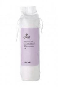 Organic Makeup Remover Cotton Pads - Avril
