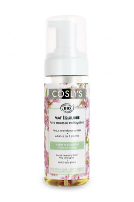 Organic Cleansing Foam for Oily Skin Coslys
