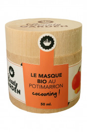 Masque Bio Cocooning au Potimarron - Beauty Garden