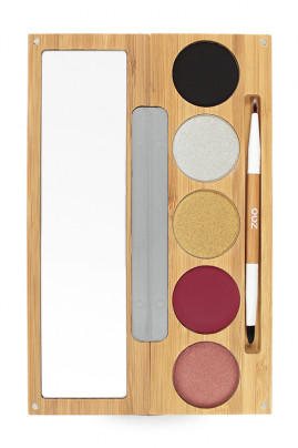 "Organic & Vegan ""Winter Chic"" Palette - Zao"