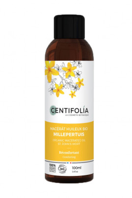 Organic St John's Wort (Hypericum) Oily Macerate - Comforting - Centifolia