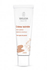 Crème Teintée Visage Vegan & Bio Claire - Weleda