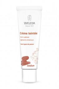 Crème Teintée Visage Vegan & Bio Medium - Weleda