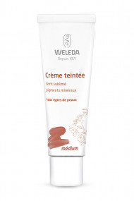 Organic Vegan Tinted Cream for Face - Weleda