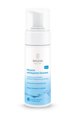 "Organic Cleansing Foam ""Douceur"" - Normal to combination skin - Weleda"