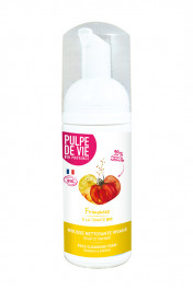 "Organic Foaming Cleanser with Fruits ""Frimousse"" Pulpe de Vie"