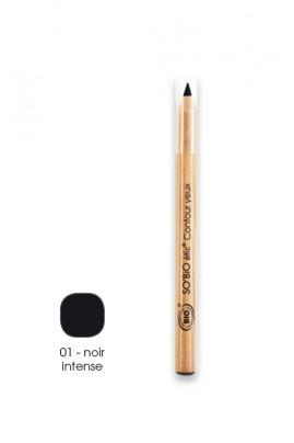 Crayon Contour des Yeux Noir Intense SO'BiO étic