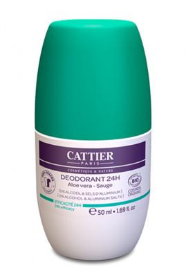 Organic Roll-On Deodorant - Cattier