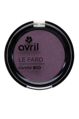 "Fard à Paupières Bio Avril ""Prune Irisé"""