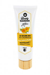 Organic & Vegan Nourrishing Body Balm - Calendula - Beauty Garden
