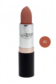 Rouge à Lèvres Bio 01 Pêche claire - Purobio