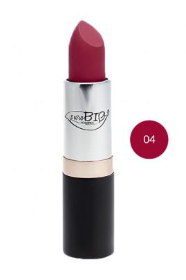 Rouge à Lèvres Bio 04 Framboise - Purobio